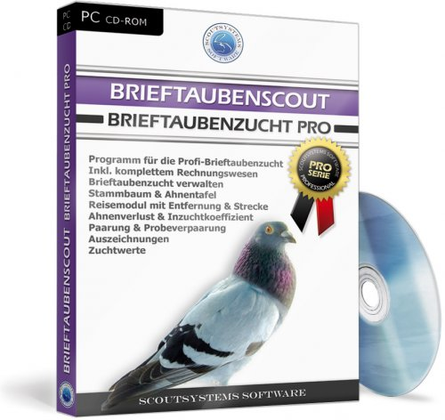 Brieftaubenscout - Brieftaubenzucht Software