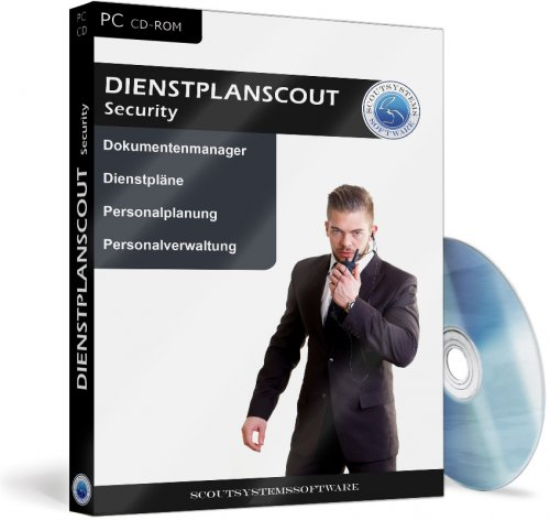 Dienstplanscout Security - Dienstplan Software