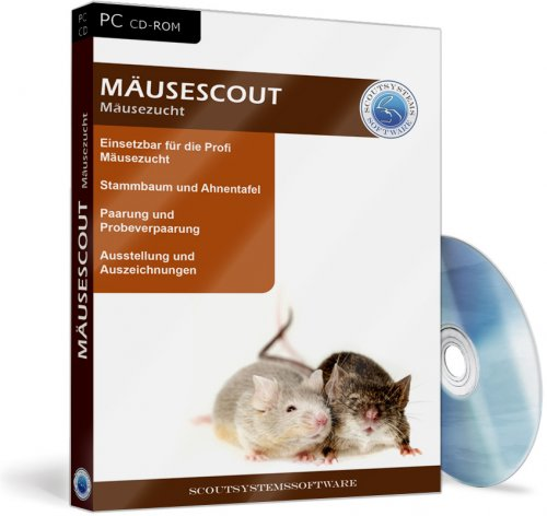 Mäusescout - Mäusezucht Software